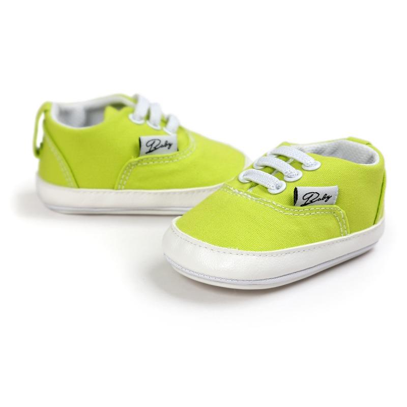 Wiosna Jesień Dziecko Noworodka Dziewczynka Chłopiec Miękkie Podeszwy antypoślizgowe Maluch Prewalker Niemowląt Sneaker Buty Na Co Dzień 47