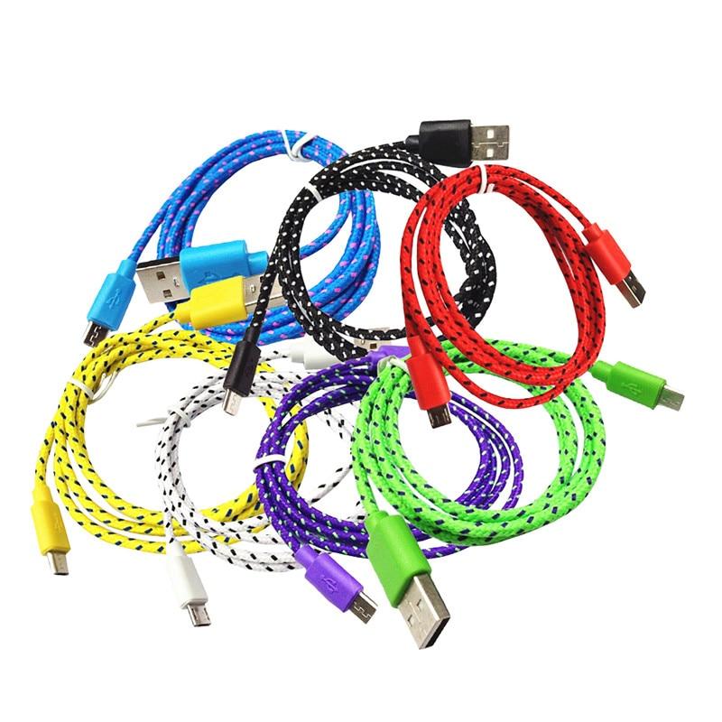1 m 2 m 3 m v8 micro usb ładowarka kabel kable ładowarki telefonu ładowarka kabel danych adapter cabo kabel do samsung htc honor mi meizu 3