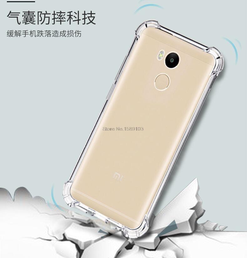 Slim fit cienkie anti-scratch soft skin silikonowy tpu case dla xiaomi redmi 4 pro/prime mi6 mi5c mi5s plus pokrywa redmi note 4x 4A 9