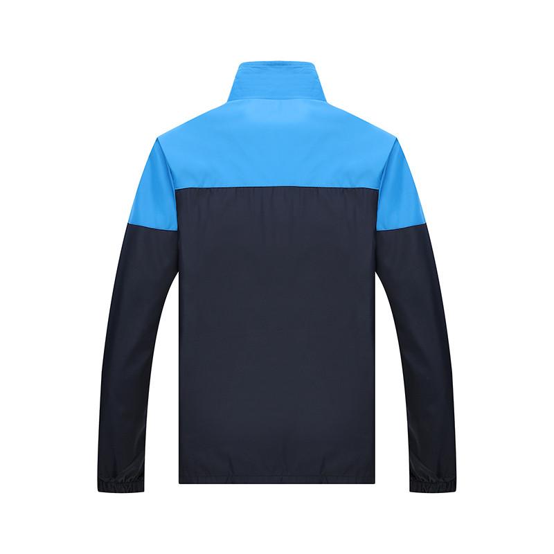 New Arrival Marka Dres Casual Sporta Kostiumu Mężczyźni Mody Bluzy Zestaw Kurtka + Spodnie 2 SZTUK Poliester Sportowej Mężczyzn 4XL 5XL SP019 8