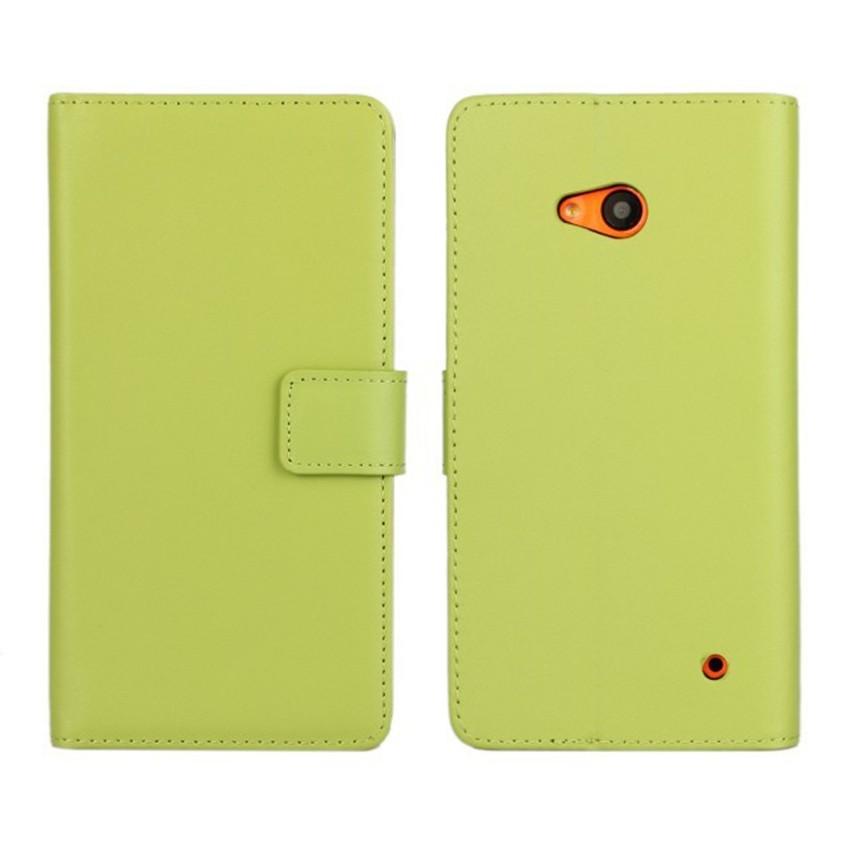 Luksusowe odwróć portfel genuine leather case pokrywa dla microsoft lumia 640 lte dual sim cell phone case do nokia 640 n640 powrót pokrywa 10
