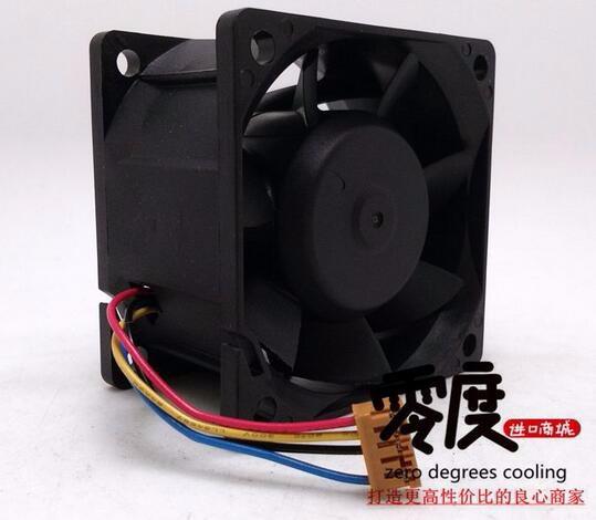 Wholesale: 12V Delta PFC0612DE 1.68A 6 cm 60*60*38 4 line double ball fan inverter