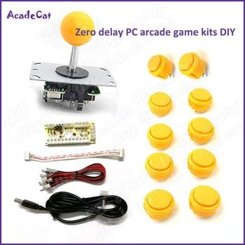 Free shipping 1 Player Zero Delay DIY PC arcade game kits for Mame