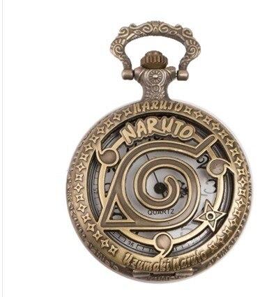 Bronze Retro Tone Fullmetal Alchemist Pocket Watch Mens ...