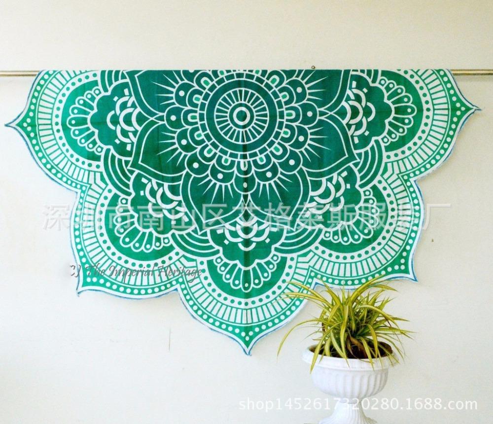 Hot summer szyfonowa wall hanging tapestry koc ręcznik plażowy duży mediter flora miękkie narzuta yoga mat obrus home decor 4