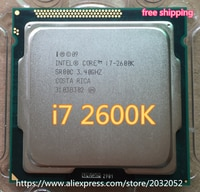 Intel Core i7 2600K 8M/3,4G/95W Quad Core Prozessor 5GT/s SR00C LGA 1155 BUCHSE i7-2600K freies verschiffen