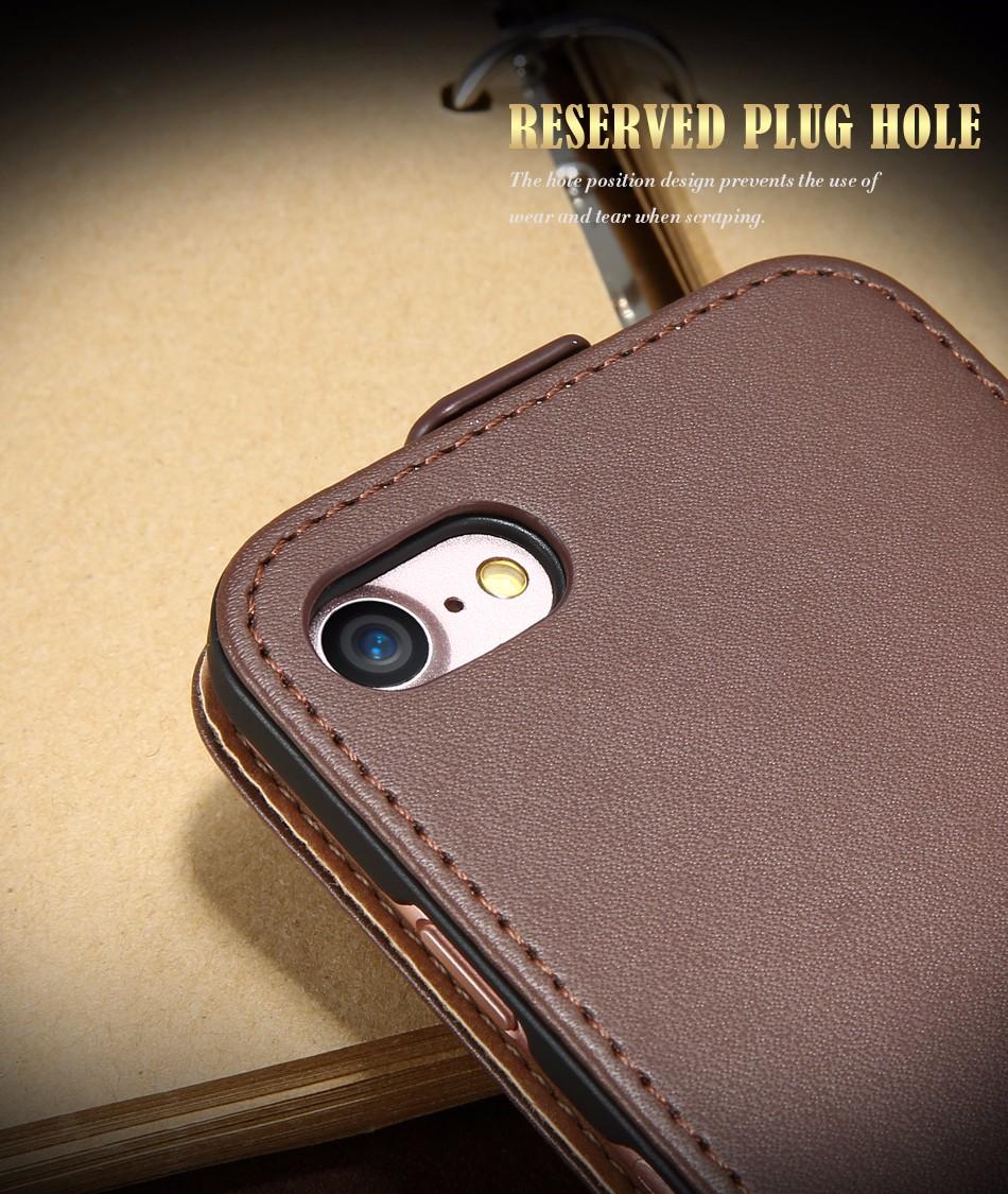 Kisscase retro 100% pu leather case for iphone 4 4s 5s 5 se 6 7 luksusowe pionie magnetic przerzucanie phone bag pokrywa dla iphone 4s 5s 4