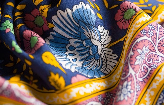 Boho zainspirowany 2017 letnie sukienki kwiatowy print cotton backless długi maxi dress hippie chic ruffles rękawem kobiety sexy vestidos 22