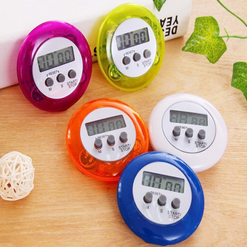 Mini cronómetro Digital magnético LCD, cronómetro para cocina, reloj despertador de carreras, función emory, temporizador, herramientas de cocina