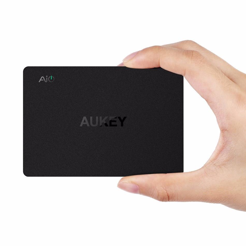 Aukey szybkie ładowanie 3.0 6-port usb szybka ładowarka uniwersalna ładowarka podróżna do samsung galaxy s7/s6/edge lg xiaomi iphone nexus7 3