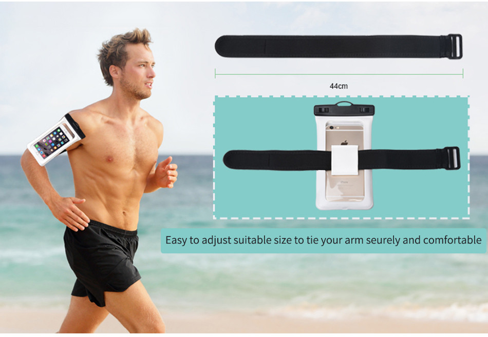 Choetech nadmuchiwane worki wodoodporne etui telefon komórkowy 30 m podwodne pralnia case pokrywa dla iphone 5 5s 6 6s plus/samsung/lg/xiaomi 13