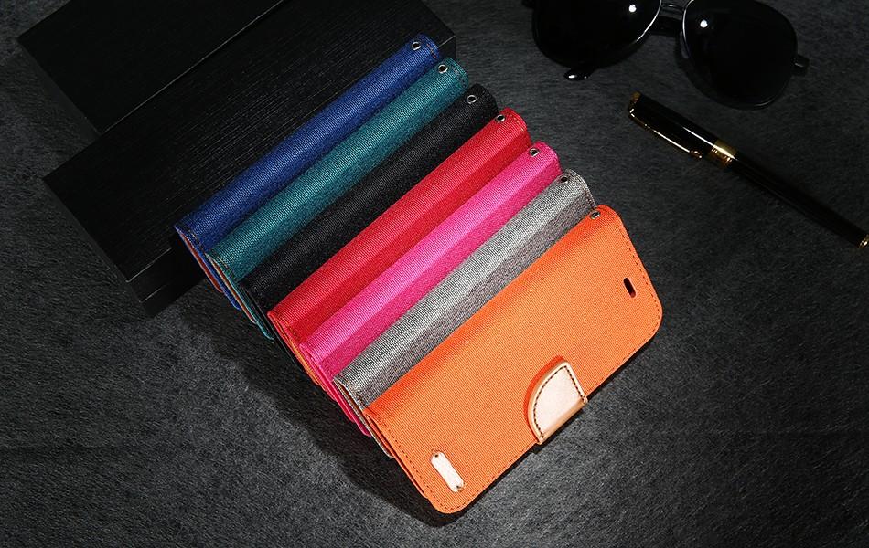 Kisscase stań portfel przerzuć przypadki dla iphone 6 6s 7 5 5S mody hit kolor slot kart skóra pokrywa dla iphone 7 6 s plus z logo 24