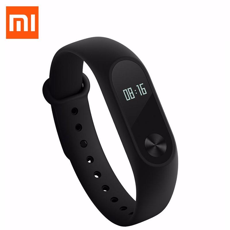 Oryginalny xiaomi mi kompania 2 miband bransoletka wistband inteligentnego tętno fitness ekran oled wyświetlacz dla iphone 7 touchpad bluetooth 31