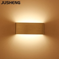 JUSHENG 북유럽 현대 창조적 인 벽 램프, 침대 머리맡 거실 침실 LED 5W 복도 통로 복도 벽 램프 거울 헤드 라이트