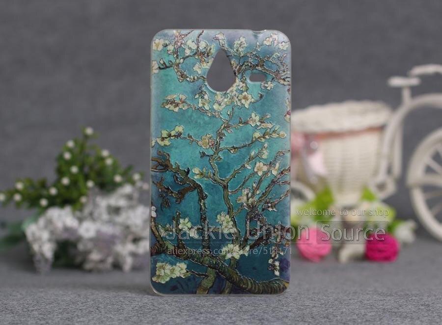 Dla nokia lumia 640 xl case ultra thin tpu pokrywa 3d tłoczone malowanie miękkiego silikonu telefon case pokrywa dla microsoft nokia 640xl 21