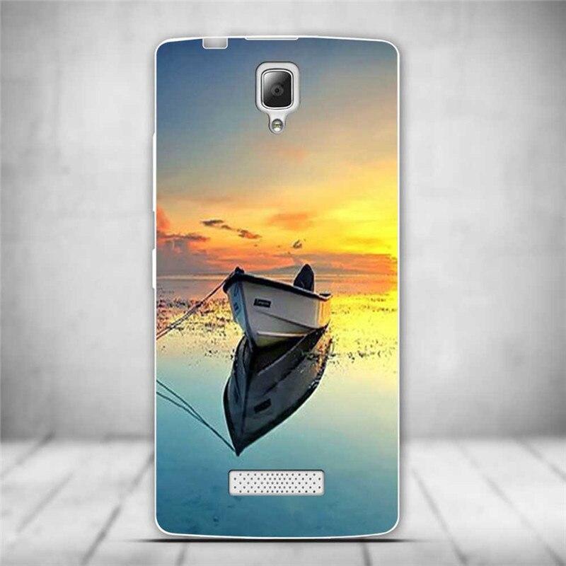 Luksusowe tylna pokrywa miękki tpu case dla lenovo a2010 a 2010 szczupła cienkie silikonowe etui na telefony dla lenovo a2010-a/a 2010 powrót skóry 17