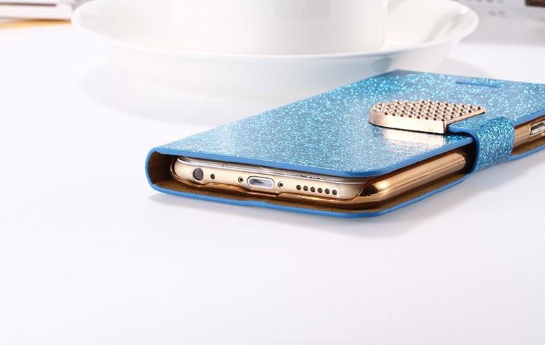 Kisscase dla iphone 5s case glitter bling skórzane etui dla iphone 5 5s se 6 6 s 7 plus stań portfel pokrywa dla iphone 7 7 plus SE 20