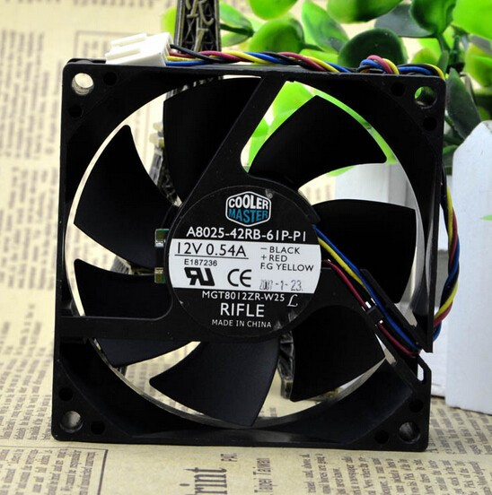 Wholesale: A8025-42RB-61P-P1 12V 0.54A 8CM fan