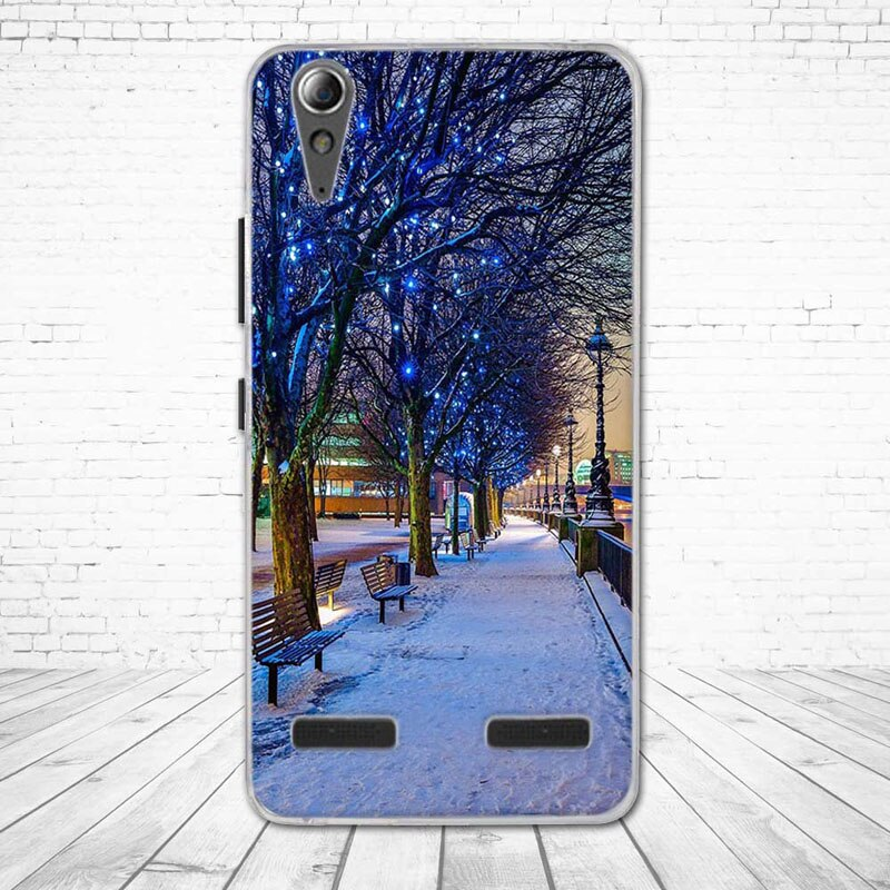 """Miękkiego silikonu case wydrukowano phone tylna pokrywa dla lenovo a6010 & a6000 & dla lenovo lemon k3 k30-t skóry pokrywa 5 """"K 3 A 6000 6010 2"""