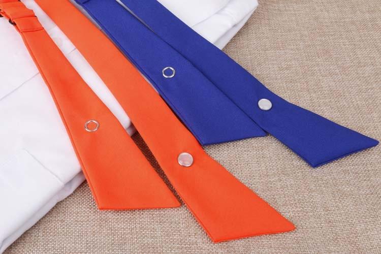 Solid Color Cross Bow Tie - FashionandLove.com