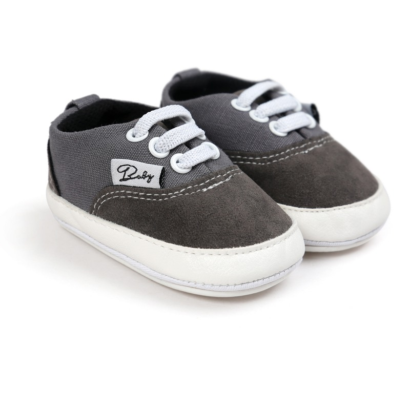 Wiosna Jesień Dziecko Noworodka Dziewczynka Chłopiec Miękkie Podeszwy antypoślizgowe Maluch Prewalker Niemowląt Sneaker Buty Na Co Dzień 23
