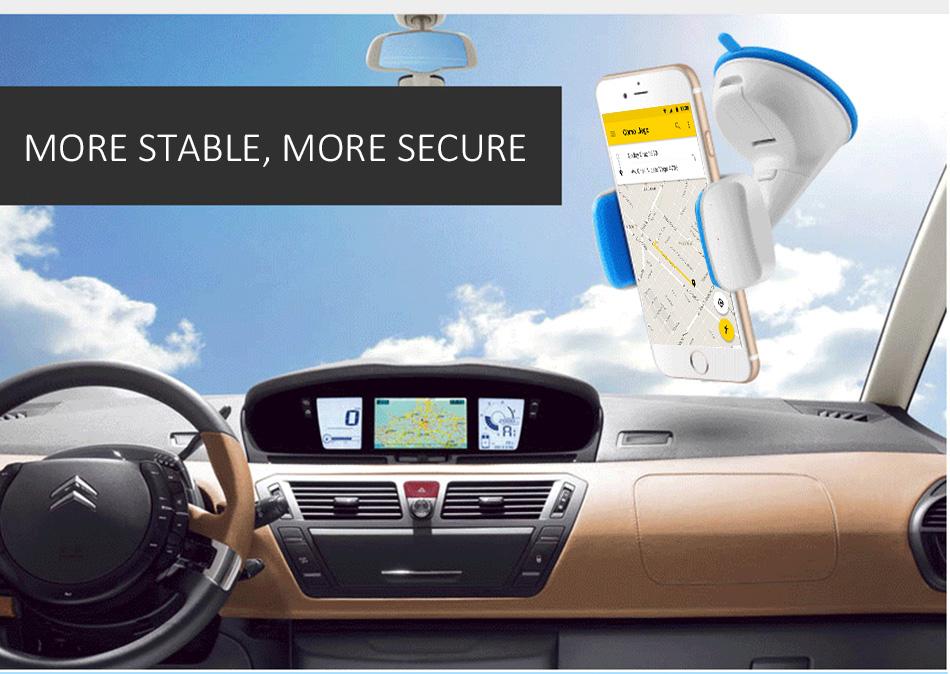 ESVNE Uniwersalny Telefon Samochodowy uchwyt szyby zamontować uchwyt na telefon komórkowy stojak uchwyt Samochodowy uchwyt na telefon Komórkowy Smartfon Telefon 13