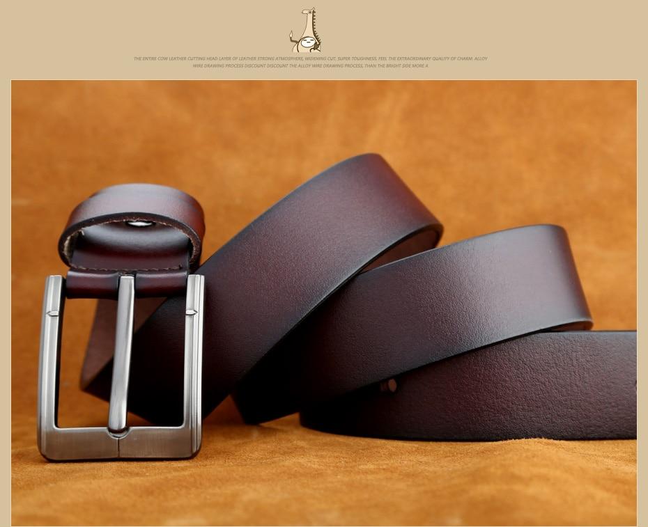 [Miluota] pasy designer mężczyźni wysokiej jakości prawdziwy skórzany pas dla mężczyzn luksusowe ceinture homme military style 130 cm mu012 22