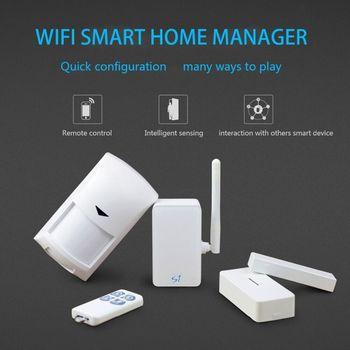 Wifi Alarm kit S1 HUB Security Suit Security Alarm Detector Motion