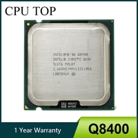 100% arbeits Core 2 Quad Q8400 Prozessor 2,66 GHz 4MB 1333MHz Buchse 775 cpu