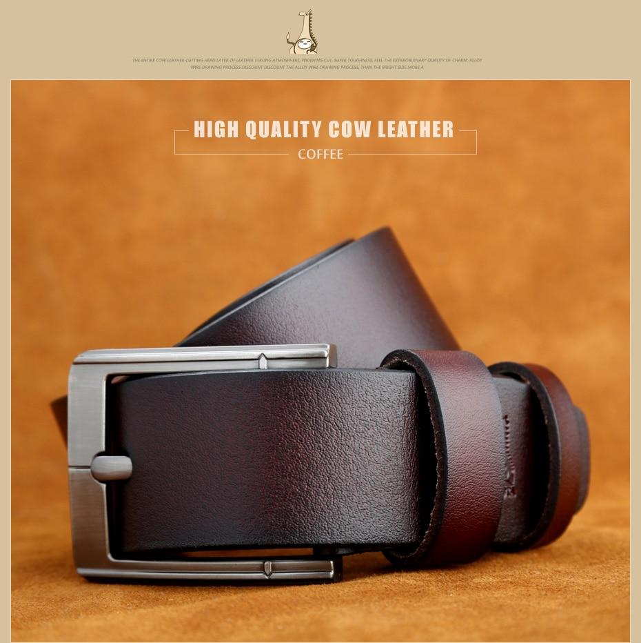 [Miluota] pasy designer mężczyźni wysokiej jakości prawdziwy skórzany pas dla mężczyzn luksusowe ceinture homme military style 130 cm mu012 21