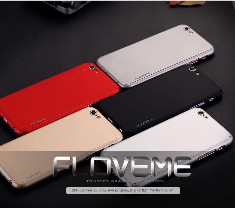 Floveme 6 s 7 plus armor screen protector 360 stopni case dla iphone 7 6 6 s dla iphone 6 6s 7 plus full chroń odporny na wstrząsy pokrywa 1