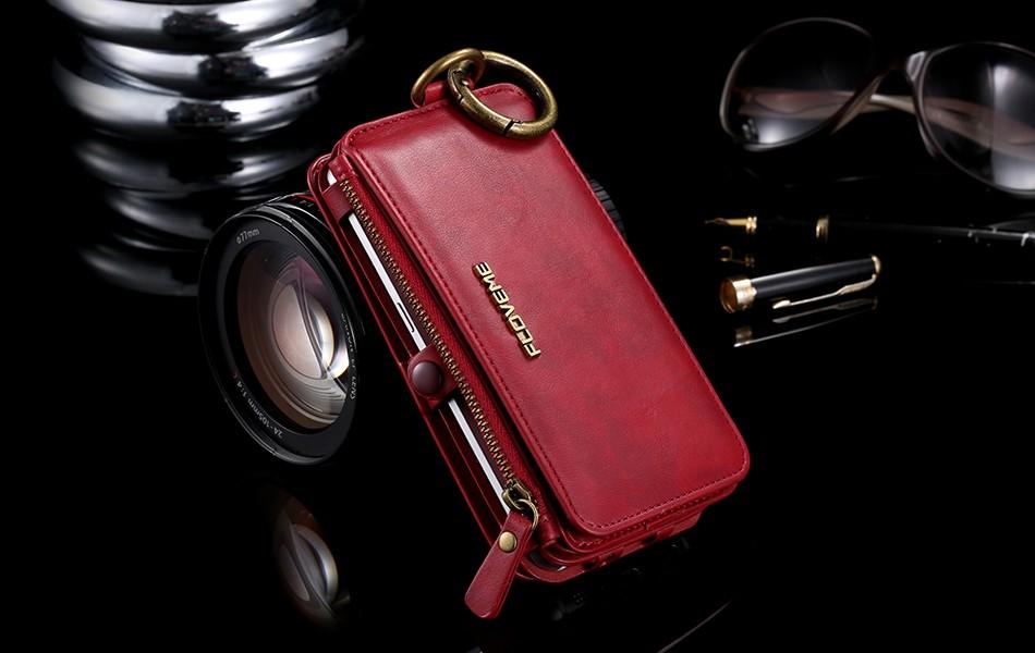 Floveme retro skóra telefon case do samsung galaxy note 3 4 5/s7/s6 edge plus metalowy pierścień coque karty portfel ochronne pokrywa 16