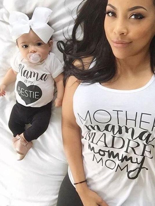 0-24 M Dziecko Niemowlę Toddle Dziewczyny Boys Baby Ubrania Letnie Krótkie Mama rękawa T-Shirt Top + Pant 2 sztuk Outfit Odzież Bebes zestaw 3