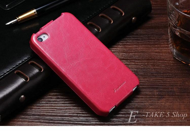 Pokrowiec case dla iphone 4 4s pu skóra pokrywa telefonu torba coque dla apple iphone 4s case luksusowe biznes styl tomkas 6