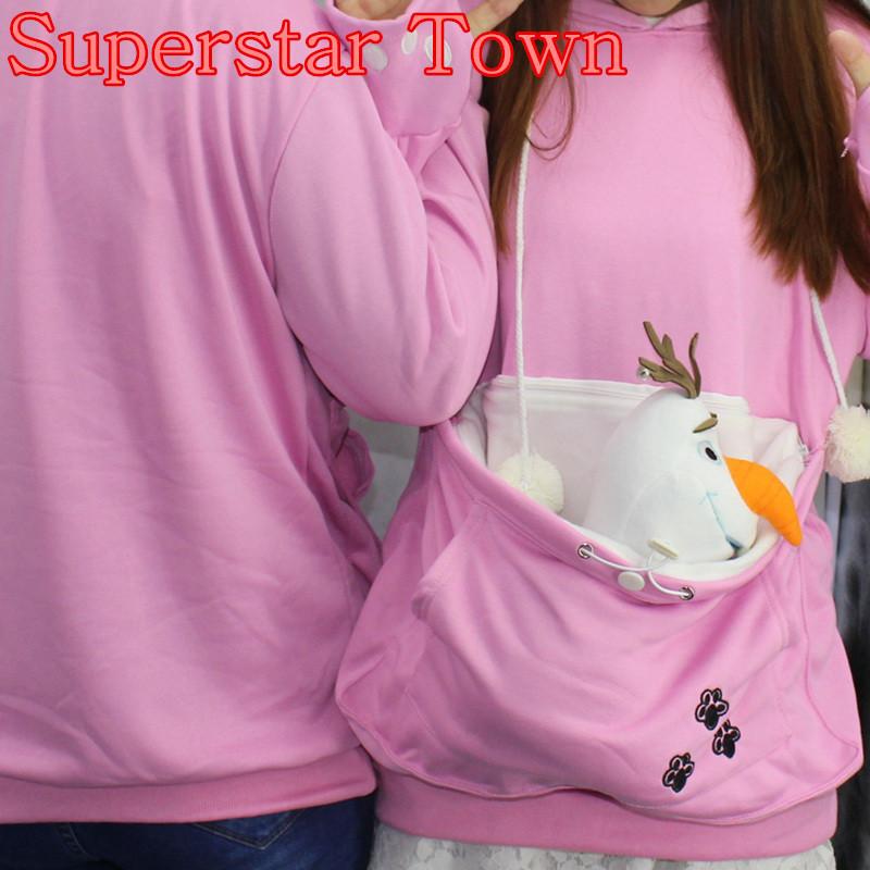 Cat lovers bluzy z cuddle etui dog pet bluzy dla kangura dorywczo swetry z uszy bluza 4xl drop shipping 6