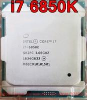 Original Intel CPU CORE i7 6850 karat Prozessor i7-6850K 3,60 ghz 15 mt 6-Kerne Socket2011-3 freies verschiffen