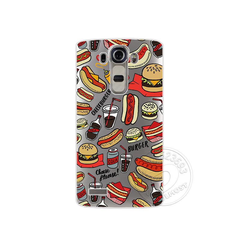 """Tpu pokrowce na lg g4 h815 h818 5.5 """"przezroczysty drukowanie rysunek silikonowe etui na telefony pokrywa dla lg g4 moda phone case 1"""