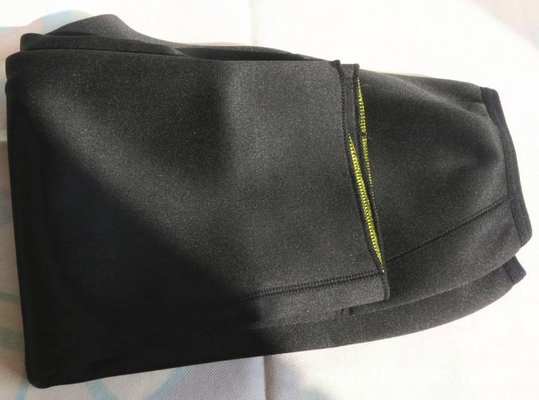 (Spodnie + Pas) hot frezarki shaper body control krótkie majtki wyszczuplające spodnie i pasy super stretch neopren bryczesy dla kobiet 8
