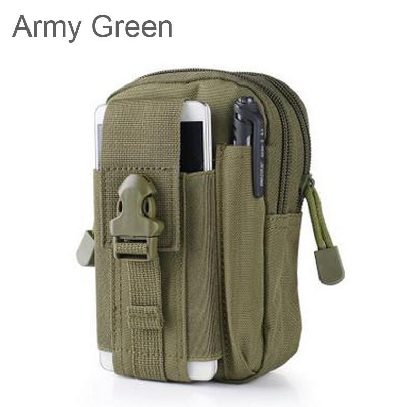 Uniwersalny Odkryty Wojskowy Molle Tactical Kabura Pasa Biodrowego Pasa Torba portfel kieszonki kiesy telefon etui z zamkiem błyskawicznym na iphone 7/lg 26