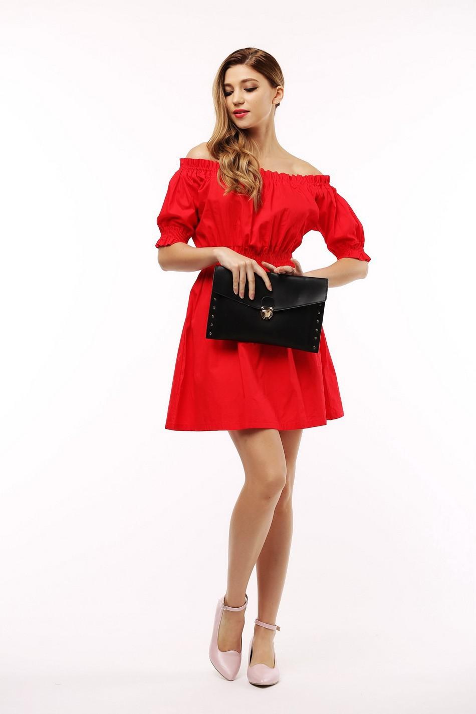 100% bawełna nowy 2017 jesień lato kobiety dress krótki rękaw casual sukienki plus size vestidos wc0380 3