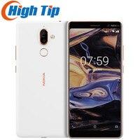 Entsperrt Original Nokia 7 Plus Android 8,0 ROM 64G Snapdragon 660 Octa core 6.0 ''Display Bluetooth 5,0 Mobile telefon