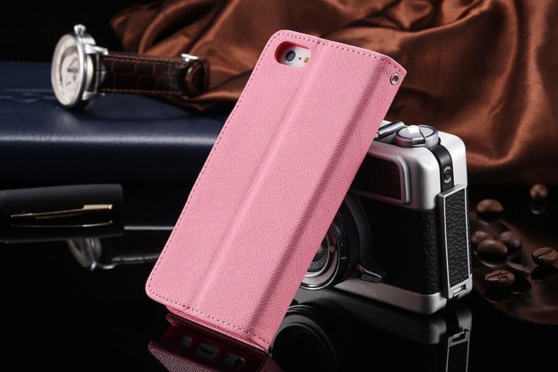 Podwójny kolor klapki skóra telefon torba case dla iphone 6 7 6 s plus 5 5S se gniazda kart + stojak kabura pokrowiec case dla iphone 7 6 6 s 25