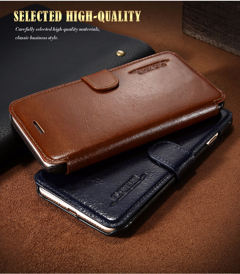 Floveme vintage klapki skóra case dla iphone 7 6 6 s pokrywa z karty uchwyt luksusowe wallet case for iphone 7 7 plus 6 6 s plus capa 10