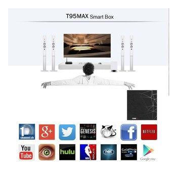 T95 MAX Android 9 0 Smart TV BOX 6K Allwinner H6 Quad Core USB 3 0