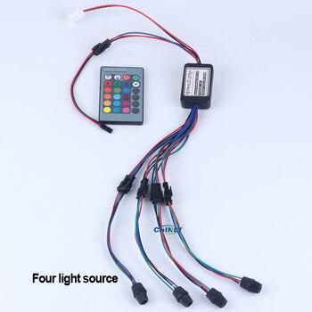 side glow fiber optic lights 2W DC 12V car / home decorative light