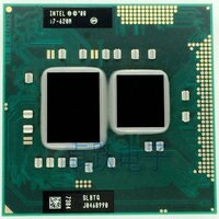 Versand freies Original Intel Core I7 620 m cpu 4 M/2,66 GHz/3333 MHz/Dual- core Laptop prozessor I7-620M Kompatibel HM57 HM55