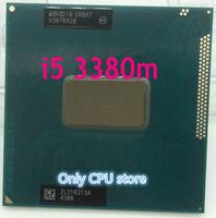 Original intel Core i5 3380M 2,9 GHz 3M Dual Core SR0X7 I5-3380M Notebook prozessoren Laptop CPU PGA 988 pin Buchse G2 prozessor