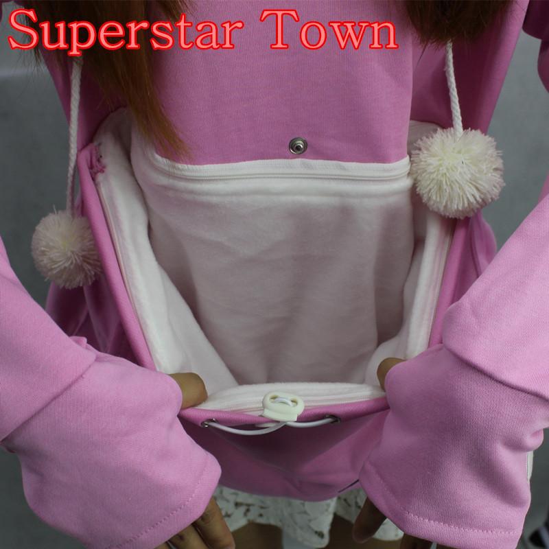 Cat lovers bluzy z cuddle etui dog pet bluzy dla kangura dorywczo swetry z uszy bluza 4xl drop shipping 5