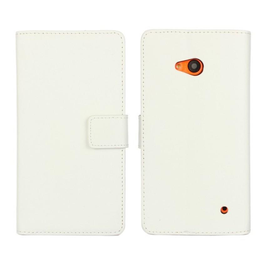 Luksusowe odwróć portfel genuine leather case pokrywa dla microsoft lumia 640 lte dual sim cell phone case do nokia 640 n640 powrót pokrywa 13