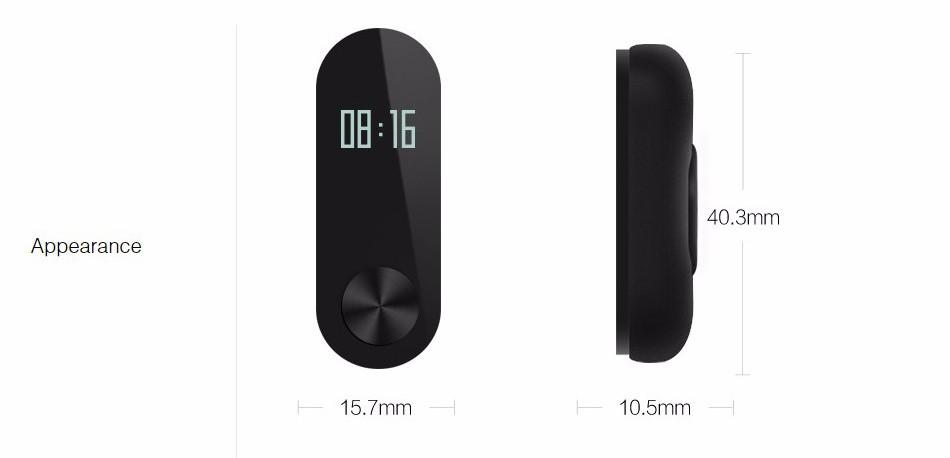 Oryginalny xiaomi mi kompania 2 inteligentnego bransoletki wristband mi kompania 2 fitness tracker bransoletka smartband pulsometr 14